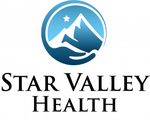 Star Valley Health logo with no background