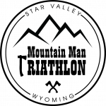 Mountain Man Triathlon logo with no background