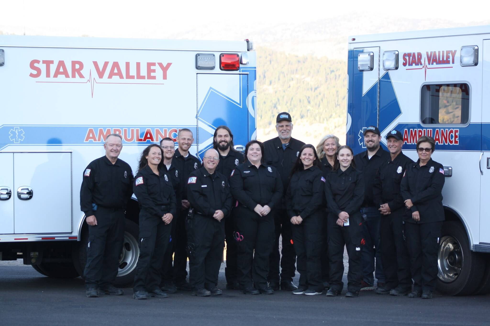 Star Valley EMS team